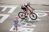 Mads Pedersen (DEN/Trek-Segafredo) up the famed Mont Ventoux<br /> <br /> Stage 11 from Sorgues to Malaucène (198.9km)<br /> 108th Tour de France 2021 (2.UWT)<br /> <br /> ©kramon