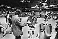 1982, ABN WTT, Peter Bonthuis en Jimmy Connors