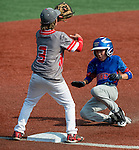 August 9, 2014: Scenes from the Midwest Plains (Denver, CO) v Ohio Valley (Homewood, IL) matchup during the Cal Ripken 12u 70-foot World Series at the Ripken Experience powered by Under Armour in Aberdeen, Maryland on August 9, 2014. Denver defeated Homewood 12-5. Scott Serio/Ripken Baseball/CSM