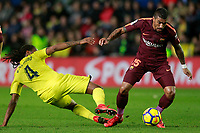 Villarreal CF's Ruben Semedo (l) and FC Barcelona's Paulinho during La Liga match. December 10,2017. (ALTERPHOTOS/Acero)<br /> Liga Campionato Spagna 2017/2018<br /> Foto Alterphotos / Insidefoto <br /> ITALY ONLY