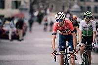 Vincenzo Nibali (ITA/Bahrain-Merida) at the start<br /> <br /> Stage 7: Moûtiers > Saint-Gervais Mont Blanc (129km)<br /> 70th Critérium du Dauphiné 2018 (2.UWT)
