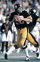 Pittsburgh Steelers, Terry Bradshaw(12) in action during a game at Three Rivers Stadium In Pittsburgh, Pennsylvania.