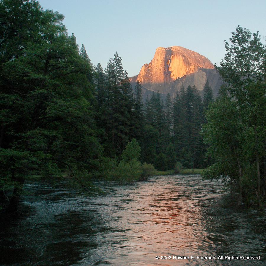 Half-Dome Sunset, Yosemite