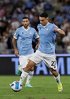 28th August 2021; Olympic Stadium, Rome, Italy; Serie A football, SS Lazio versus AC Spezia : Raul Moro of Lazio