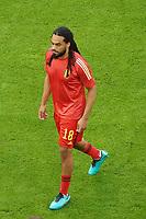Jason Denayer (Belgien, Belgium, Belgie, Belgique)<br /> - Muenchen 02.07.2021: Italien vs. Belgien, Viertelfinale, Allianz Arena Muenchen, Euro2020, emonline, emspor, Playoffs, Quarterfinals<br /> <br /> Foto: Marc Schueler/Sportpics.de<br /> Nur für journalistische Zwecke. Only for editorial use. (DFL/DFB REGULATIONS PROHIBIT ANY USE OF PHOTOGRAPHS as IMAGE SEQUENCES and/or QUASI-VIDEO)