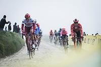 Nils Politt (GER/Katusha Alpecin)<br /> <br /> 117th Paris-Roubaix (1.UWT)<br /> 1 Day Race: Compiègne-Roubaix (257km)<br /> <br /> ©kramon