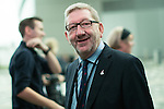© Joel Goodman - 07973 332324 . 28/09/2016 . Liverpool , UK . LEN MCCLUSKEY arrives for the final day of the Labour Party Conference at the ACC in Liverpool . Photo credit : Joel Goodman
