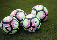 Pictured: Footballs Thursday 18 August 2016<br /> Re: Swansea City FC training at Fairwood, Wales, UK
