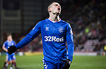 29.02.2020 Hearts v Rangers: Ryan Kent dejection