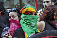- Milano, 26 Ottobre 2019, manifestazione in sostegno del popolo Curdo e assalto al consolato della Turchia<br /> <br /> - Milan, 26 October 2019, demonstration in support of the Kurdish people and assault on the consulate of Turkey