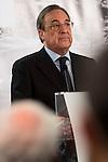 Real Madrid president Florentino Perez , offers extraordinary press conference for the media at Santiago Bernabeu Stadium in Madrid, November 23, 2015<br /> (ALTERPHOTOS/BorjaB.Hojas)