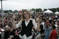 Montreal (Qc) Canada - August 2009 file photo -  Annie Villeneuve