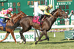 July 27, 2014: Guys Reward with Paco Lopez win the 68th running of the Grade III Metropolitan Jets Oceanport Stakes for 3-year olds & up, going 1 1/16 mile on the turf, at Monmouth Park. Trainer: Dale Romans. Owner: Michael J. Bruder. Sue Kawczynski/ESW/CSM