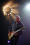 Guitarist Alex Lifeson of Rush performs at the Cynthia Woods Mitchell Pavilion in The Woodlands Saturday Sept. 25, 2010. (Dave Rossman/For the Chronicle)