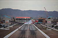 Feb 21, 2020; Chandler, Arizona, USA; Overall view of the track during NHRA qualifying for the Arizona Nationals at Wild Horse Pass Motorsports Park. Mandatory Credit: Mark J. Rebilas-USA TODAY Sports