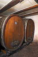 old carved wooden vat dom frederic mochel traenheim alsace france