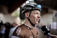 Oliver Naesen (BEL/AG2R-La Mondiale) ahead of the race start<br /> <br /> Belgian National Road Championships 2019 - Gent<br /> <br /> ©kramon