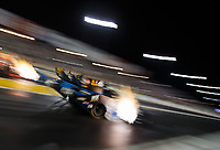 Sep 21, 2018; Madison, IL, USA; NHRA funny car driver Shawn Langdon during qualifying for the Midwest Nationals at Gateway Motorsports Park. Mandatory Credit: Mark J. Rebilas-USA TODAY Sports