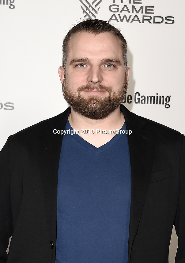 LOS ANGELES - DECEMBER 6: Jesse Houston attends the 2018 Game Awards at the Microsoft Theater on December 6, 2018 in Los Angeles, California. (Photo by Scott Kirkland/PictureGroup)
