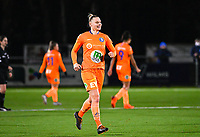 Ella Van Kerkhoven (3) of AA Gent pictured during a female soccer game between  Racing Genk Ladies and AA Gent Ladies on the eleventh matchday of the 2020 - 2021 season of Belgian Scooore Womens Super League , friday 22 th of January 2021  in Genk , Belgium . PHOTO SPORTPIX.BE | SPP | DAVID CATRY