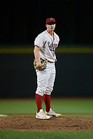 Great Lakes Loons pitcher Justin Bruihl (28) during a Midwest League game against the Clinton LumberKings on July 19, 2019 at Dow Diamond in Midland, Michigan.  Clinton defeated Great Lakes 3-2.  (Mike Janes/Four Seam Images)