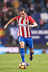 Diego Roberto Godin Leal of Atletico de Madrid in action during the La Liga match between Atletico de Madrid and RCD Espanyol at the Vicente Calderón Stadium on 03 November 2016 in Madrid, Spain. Photo by Diego Gonzalez Souto / Power Sport Images