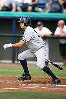 April 15, 2009:  Outfielder Austin Krum of the Tampa Yankees, Florida State League Class-A affiliate of the New York Yankees, during a game at Space Coast Stadium in Viera, FL.  Photo by:  Mike Janes/Four Seam Images