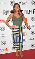"""Grace Andrews attends the """"My Hero"""" Raindance Film Festival UK film premiere, Vue Piccadilly cinema, Lower Regent Street, London, England, UK, on Friday 25 September 2015. <br /> CAP/CAN<br /> ©Can Nguyen/Capital Pictures"""