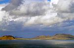 Spanien, Kanarische Inseln, Lanzarote, Blick zur Nachbarinsel Isla Graciosa | Spain, Canary Island, Lanzarote, view at neighbouring island Isla Graciosa