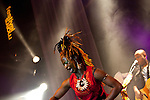 Europa, DEU, Deutschland, Nordrhein Westfalen, NRW, Rheinland, Niederrhein, Moers, Moers Festival 2010, Dobet Gnahore, Line up - Dobet Gnahoré (CI, FR), Dobet Gnahoré_voc, Colin Laroche de Feline_g, Clive Govinden_b, Boris, Tchango_dr, Kategorien und Themen, Menschen, Mensch, Personen, Person, Menschenfotos, People, Musik, Musiker, Konzert, Konzerte, Events....[ For each utilisation of my images my General Terms and Conditions are mandatory. Usage only against use message and proof. Download of my General Terms and Conditions under http://www.image-box.com or ask for sending. A clearance before usage is necessary...Material is subject to royalties...Contact | archive@image-box.org | www.image-box.com ]