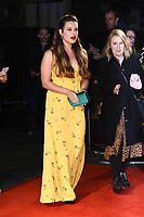 "Katherine Langford<br /> arriving for the ""Knives Out"" screening as part of the London Film Festival 2019 at the Odeon Leicester Square, London<br /> <br /> ©Ash Knotek  D3524 08/10/2019"