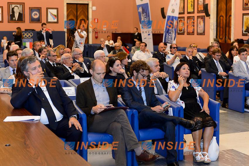 Roma 22-06-2017 Coni Salone d'onore <br /> Conferenza stampa di presentazione della finale Coppa del mondo tiro con l'arco <br /> Foto Andrea Staccioli / Insidefoto / Fitarco