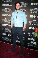 NEW YORK, NY- October 10: Michael Aloni at the HBOMAX premiere of Scenes From A Marriage at the Museum of Modern Art Titus Theatre in New York City on October 10, 2021 <br /> CAP/MPI/RW<br /> ©RW/MPI/Capital Pictures
