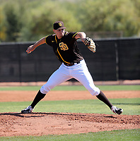 Nick Kuzia - San Diego Padres 2020 spring training (Bill Mitchell)