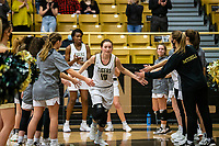 Gracie Eaves (10) of Bentonville gets introduced for starting lineup at Tiger Arena, Bentonville, AR January 5, 2021 / Special to NWA Democrat-Gazette/ David Beach