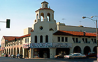 Movie Theatre: Riverside CA. Fox Riverside Theater 1928, Seventh & Market. Spanish Colonial Revival. Photo '87.
