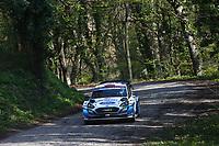 23rd April 2021; Zagreb, Croatia; WRC Rally of Croatia, stages 1-8;  Gus Greensmith - Ford Fiesta WRC WRC