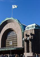 Hauptbahnhof in Helsinki, Finnland