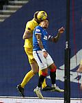 25.10.2020 Rangers v Livingston: James Tavernier clears his lines