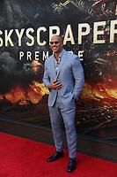 Dwayne Johnson & Skyscraper premiere<br /> 7-10- 2018<br /> Photo By John Barrett/PHOTOlink.net