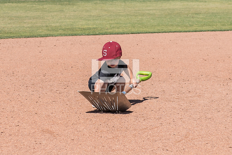STANFORD, CA - MAY 29: Helper after a game between Oregon State University and Stanford Baseball at Sunken Diamond on May 29, 2021 in Stanford, California.