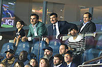 Tamim ben Hamad Al Thani - prince du Qatar - proprietaire du PSG dans les tribunes<br /> Parigi 18-9-2019 <br /> Paris Saint Germain - Real Madrid  <br /> Champions League 2018/2019<br /> Foto Panoramic / Insidefoto <br /> Italy Only