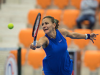 Rotterdam, Netherlands, December 15, 2016, Topsportcentrum, Lotto NK Tennis,  Olga Kalyuzhnaya (NED) <br /> Photo: Tennisimages/Henk Koster