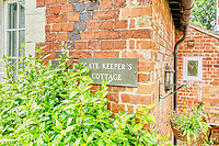 BNPS.co.uk (01202 558833)<br /> Pic: PropertyPublicity/BNPS<br /> <br /> Pictured: The home is called, The Keeper's Cottage.<br /> <br /> Loco-cation, loco-cation, loco-cation..<br /> <br /> This quirky property that is up for sale is all about its loco-cation - as it sits on a railway crossing right next to the train tracks.<br /> <br /> The Grade II listed cottage was built in 1850 to house the gatekeeper whose job it was to close the gates at the road crossing whenever a train was due.<br /> <br /> The gates, in the village of Stone, Staffs, were automated many years ago.