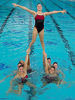 The 2010 Stanford Synchronized Swimming team.