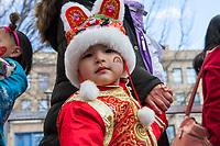 Chinese New Year 2018, Chinatown, Seattle, WA, USA.