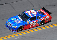 Feb 07, 2009; Daytona Beach, FL, USA; NASCAR Sprint Cup Series driver Derrike Cope during practice for the Daytona 500 at Daytona International Speedway. Mandatory Credit: Mark J. Rebilas-