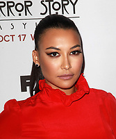 "13 July 2020 - Naya Rivera, the actress best known for playing cheerleader Santana Lopez on Glee, has been confirmed dead. Rivera, 33, is believed to have drowned while swimming in the lake with her 4-year-old son, who was found asleep on their rental pontoon boat after it was overdue for return. 13 October 2012 - Hollywood, California - Naya Rivera. Premiere Screening Of FX's ""American Horror Story: Asylum"" Held At The Paramount Theatre. Photo Credit: Kevan Brooks/AdMedia"