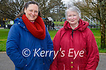 Enjoying a stroll on Mothers Day in the Tralee town park on Sunday, l to r: Elizabeth Cullinane and Veronica Doyle.