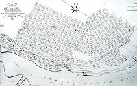 Frederick Law Olmsted:  Plan of Tacoma, 1880, after rejection of Olmsted Scheme.  Reps, p. 569.